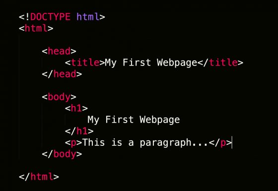 How to Code a Basic Webpage Using HTML