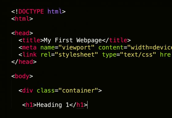How to Develop a Basic Webpage Using HTML and CSS