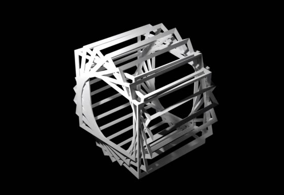 Cubeframe Array Animation