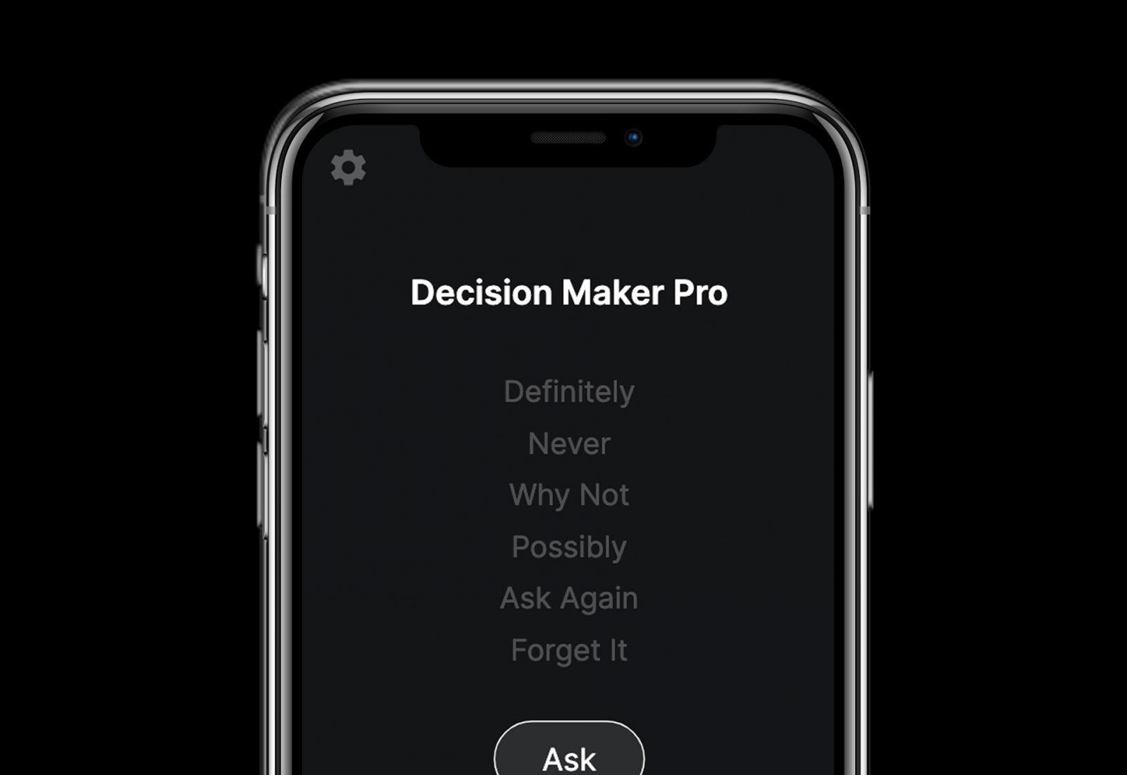 Decision Maker App