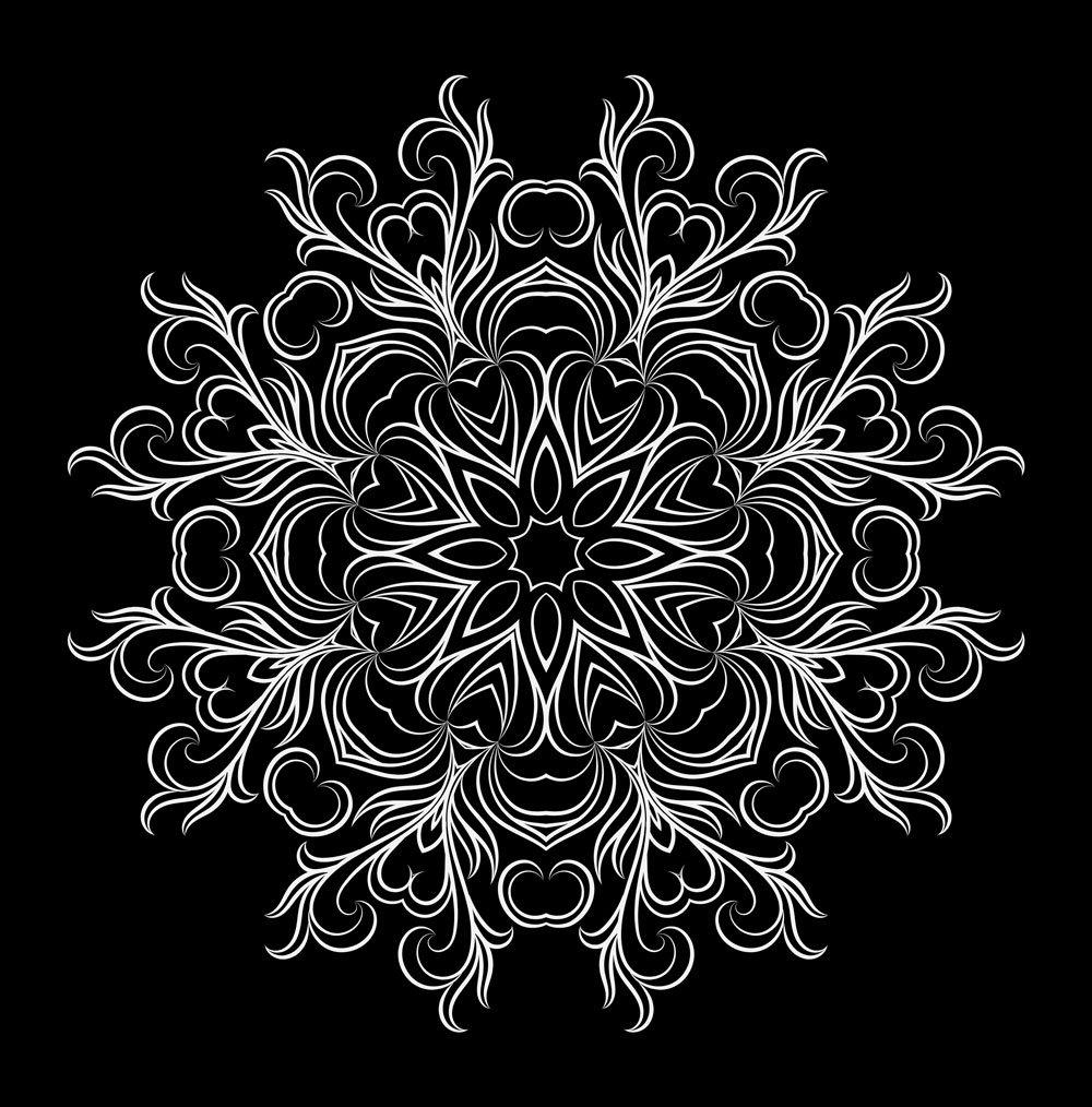 Floral Mandala vector artwork