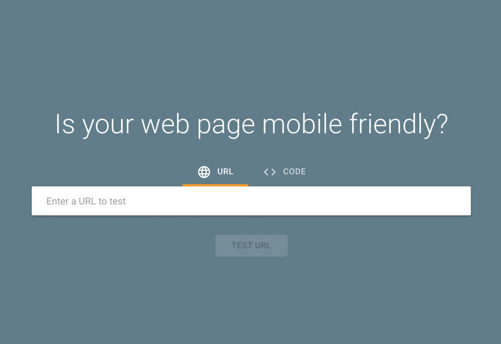 Google Mobile Friendly web development tool