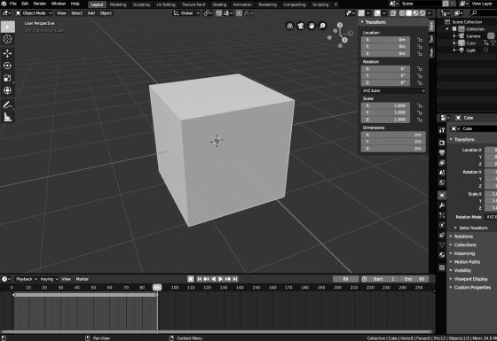 How to Spin an Object in Blender 2.8