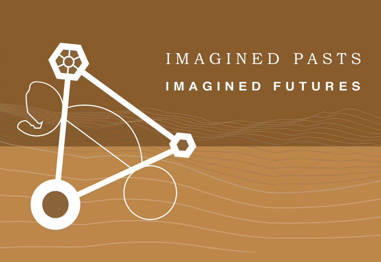 Logo design and branding for ICOMOS Australia - Imagined Pasts Imagined Futures