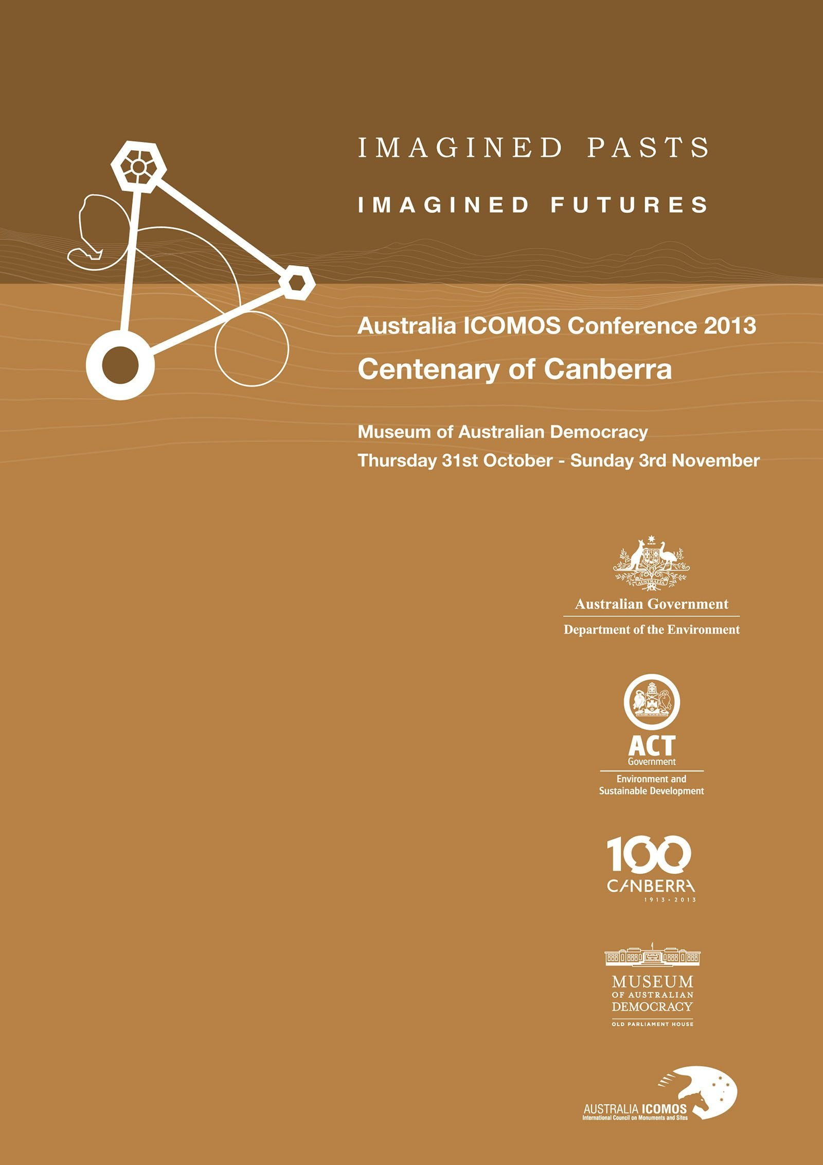 Imagined Pasts Imagined Futures Flyer Cover