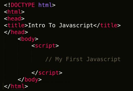 Intro to JavaScript