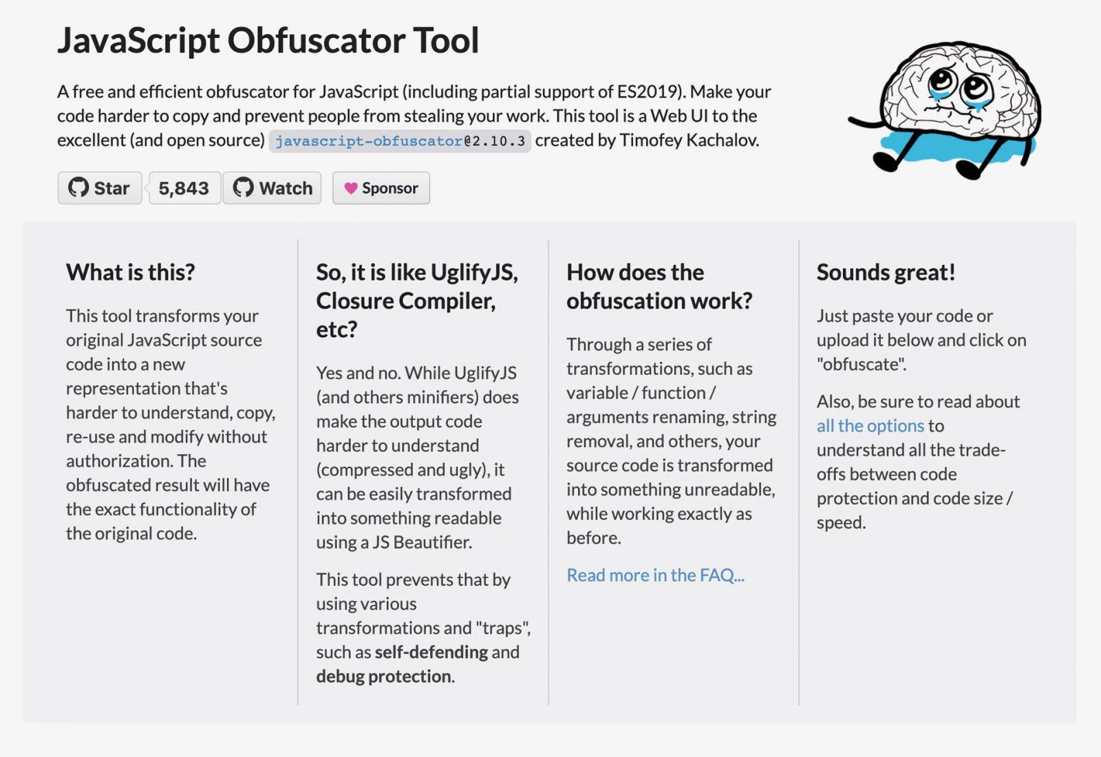 JavaScript Obfuscator Tool