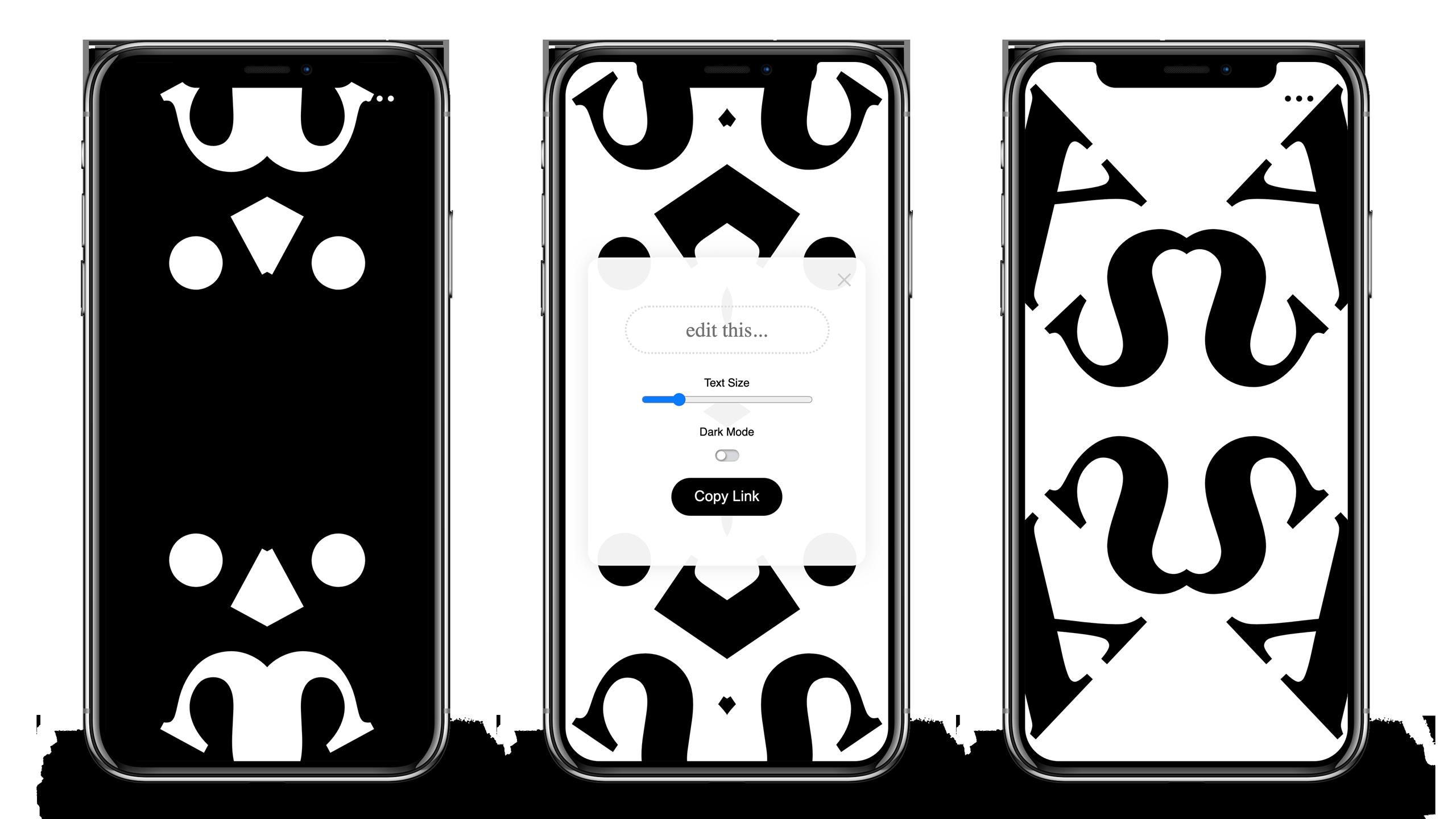 Kaleidotext App