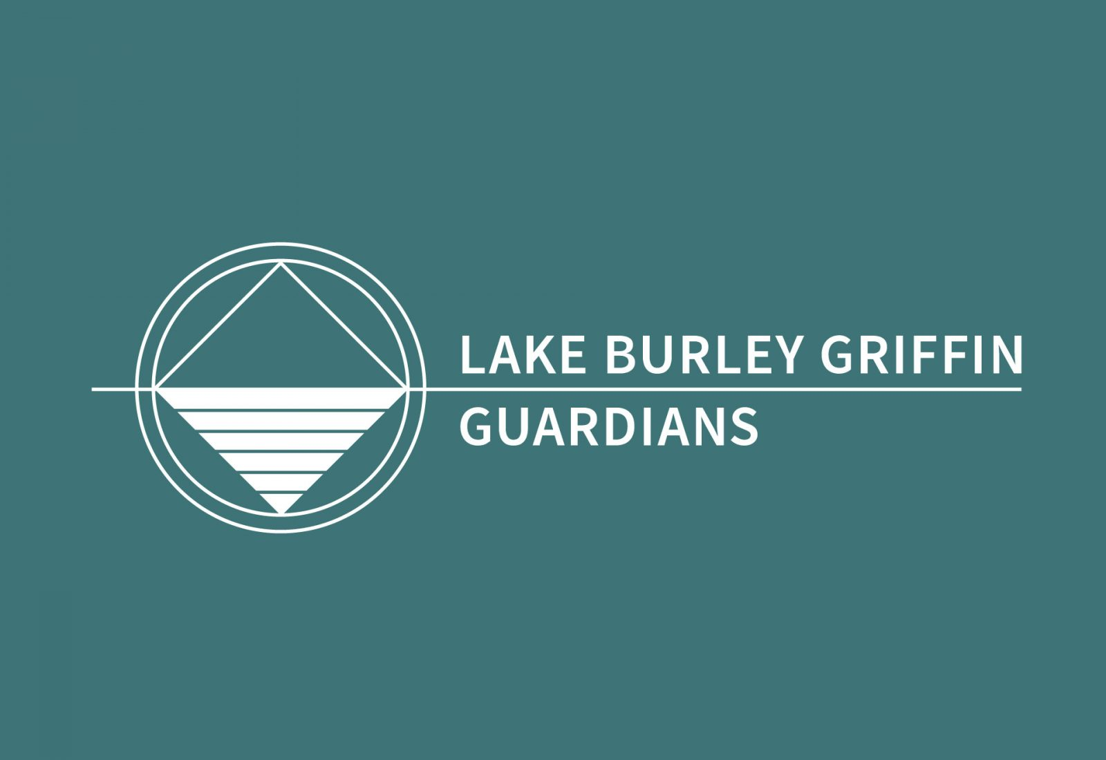 Logo design and branding for Lake Burley Griffin Guardians