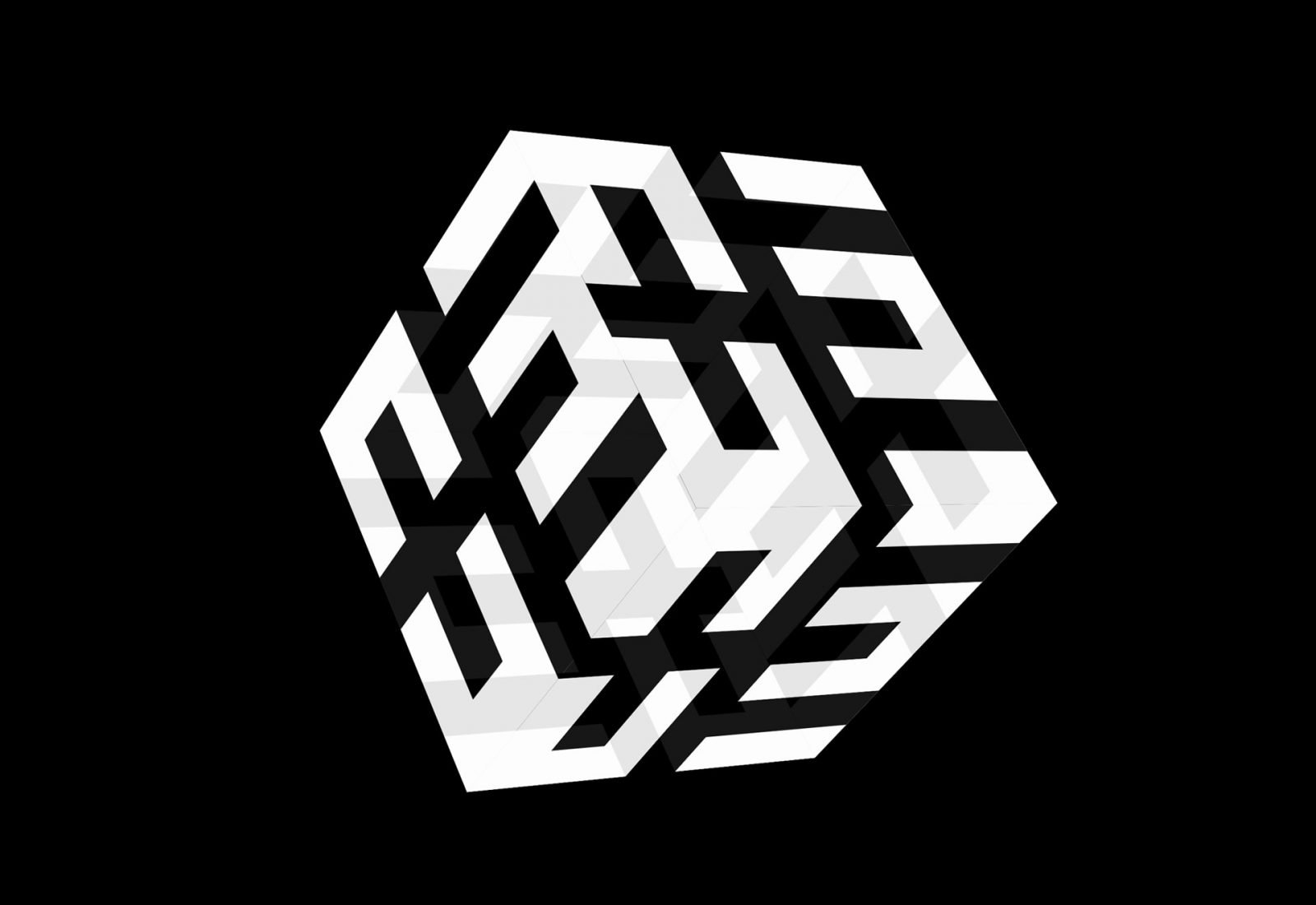 Logocube - An experiment with 3D animation using CSS only