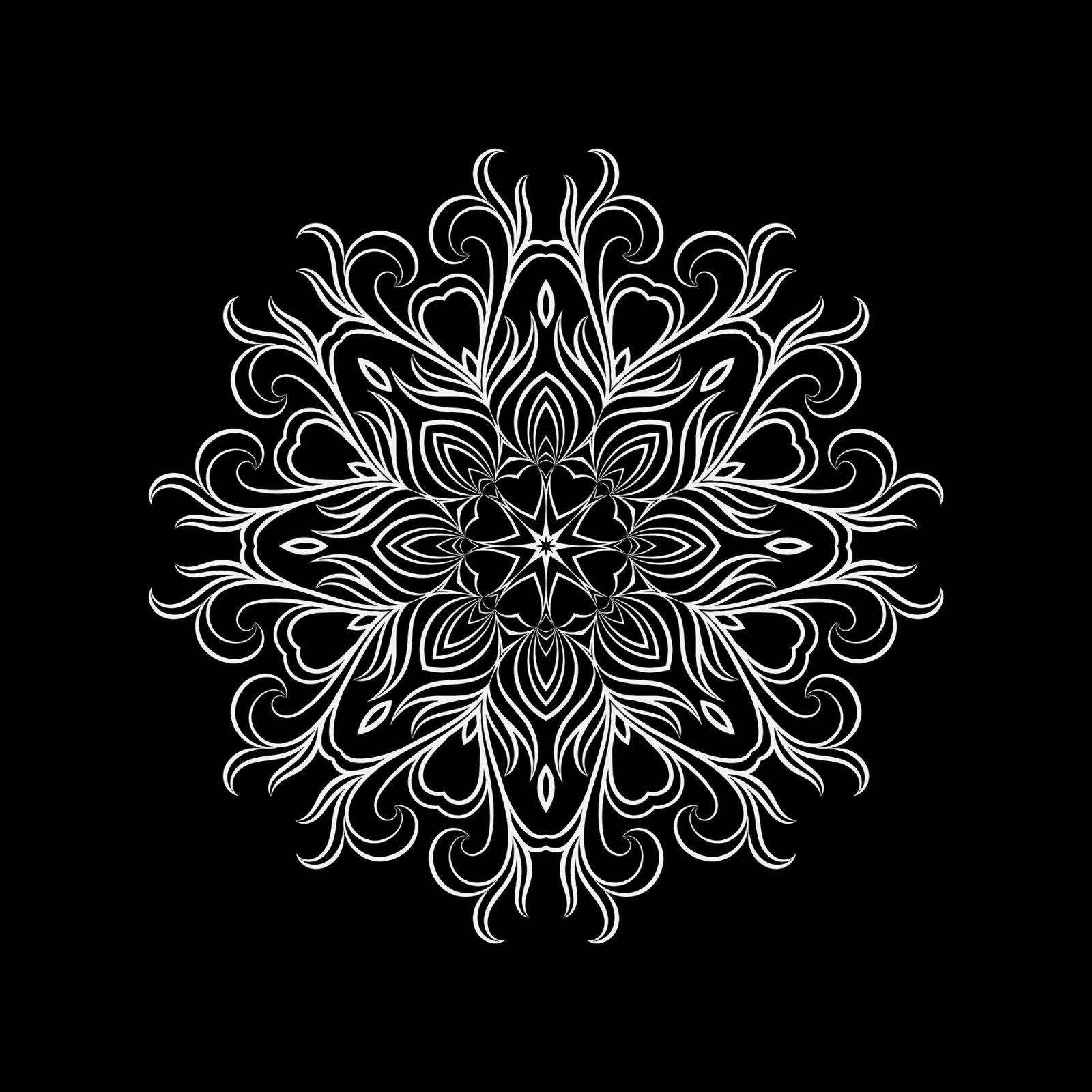 Mandala 1 - Artwork by Henry Egloff
