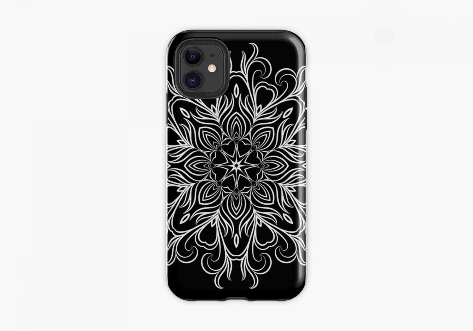 Mandala phone case - artwork by Henry Egloff