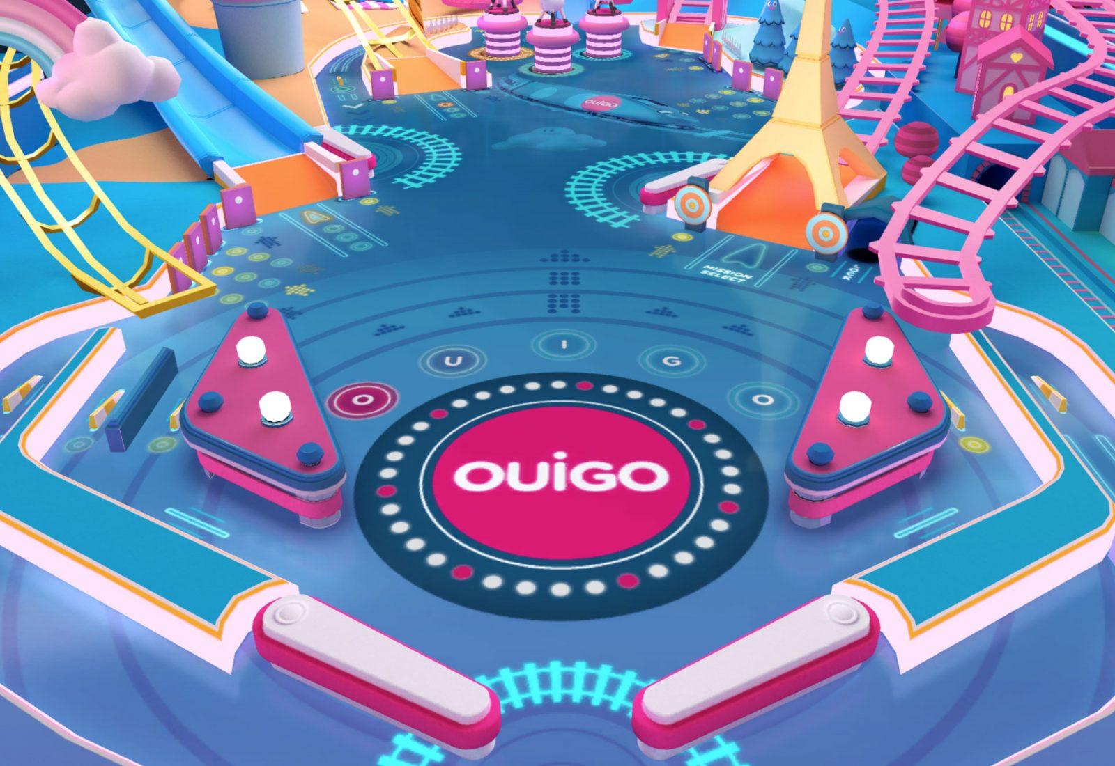 Ouigo WebGL Game