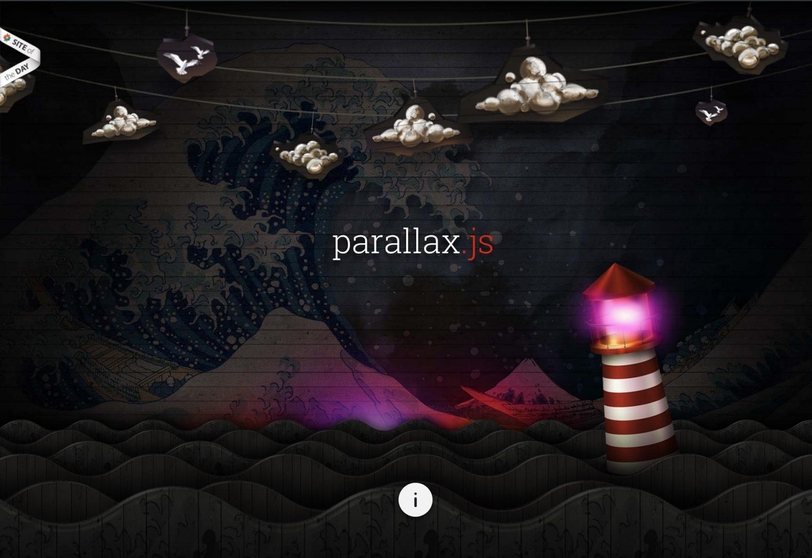 Parallax JS by Matthew Wagerfield & Claudio Guglieri