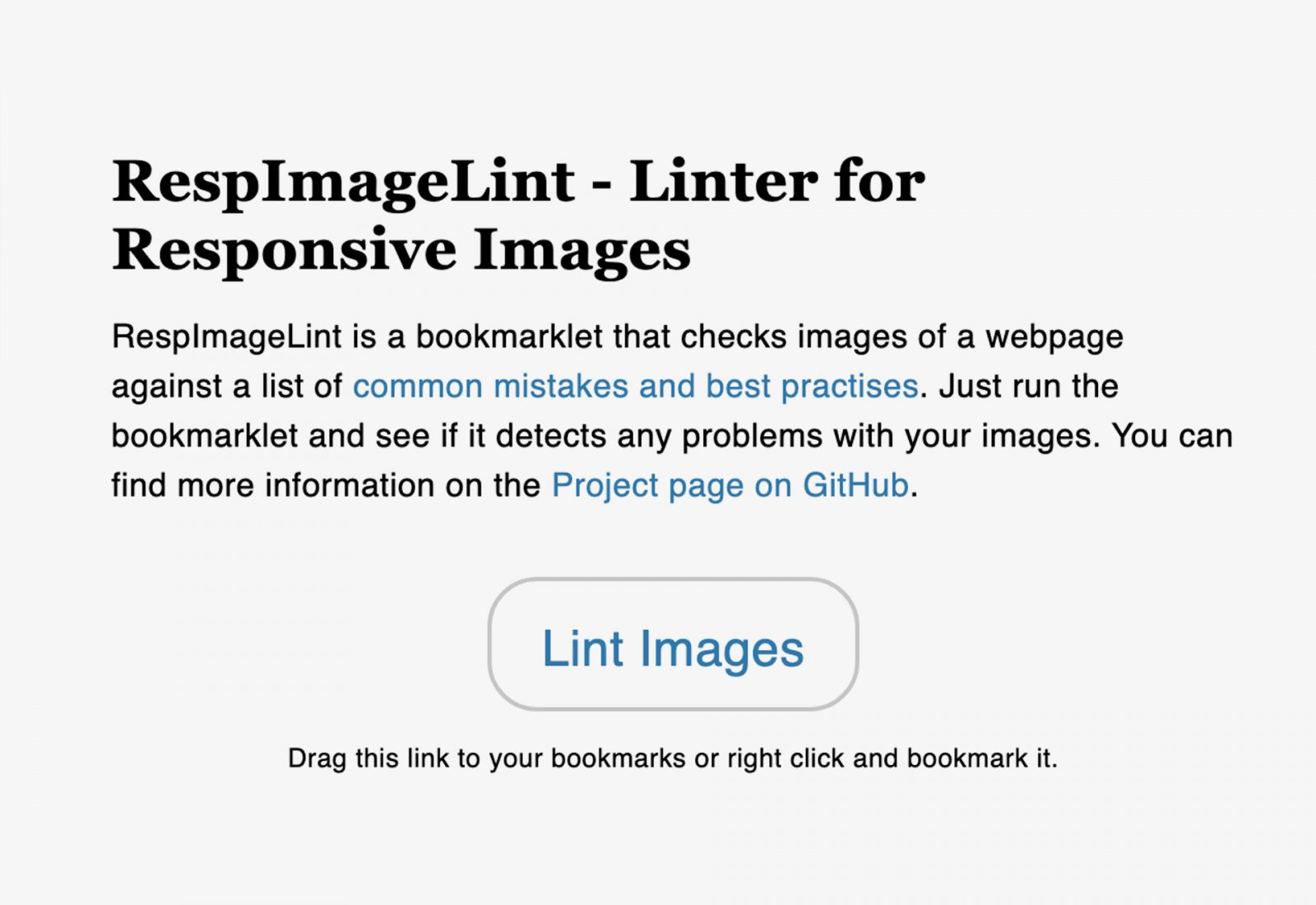 CSS Responsive Images Linter