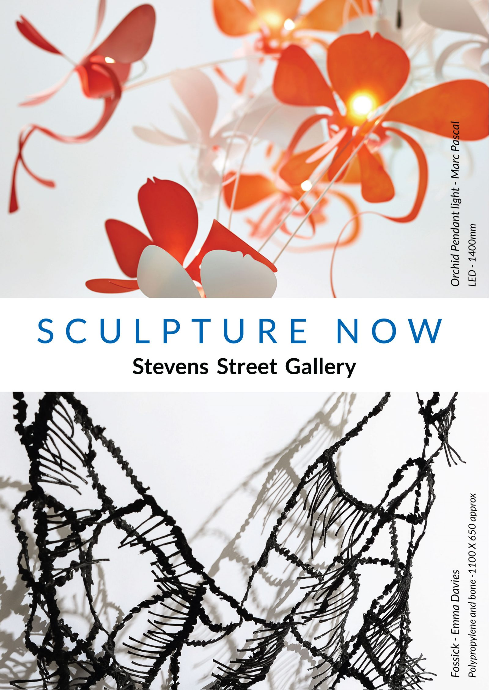 Sculpture Now exhibition invite.