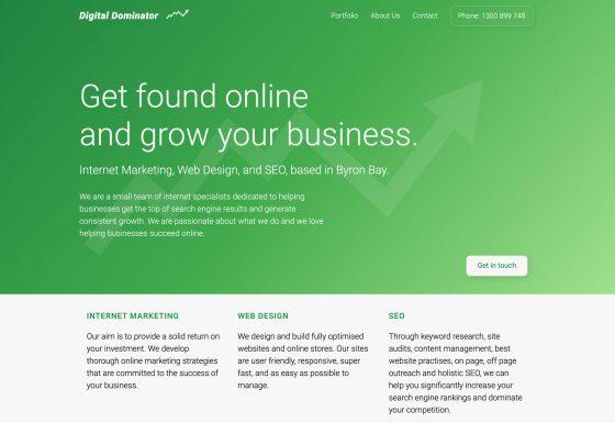 Digital Dominator Website