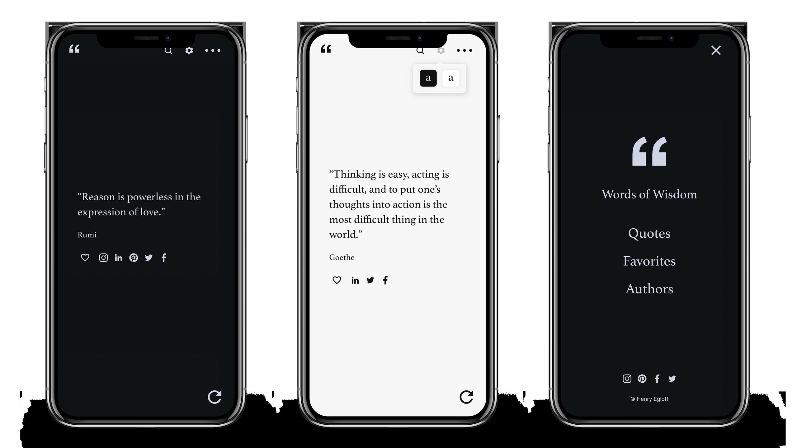 Words of Wisdom - Free Quote App