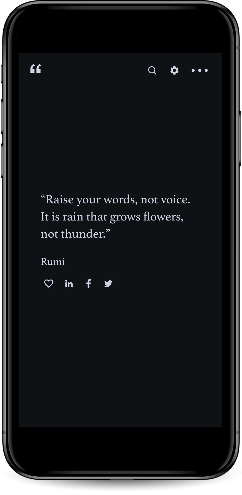 Words of Wisdom - Mobile App